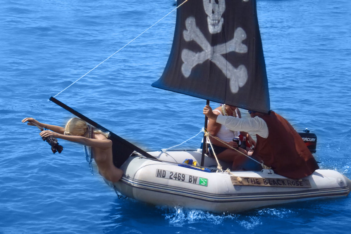 5 rules of responsible dinghy driving